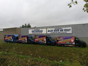 Wagenpark Feestcentrale