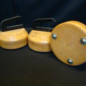 Curling-op-wielen