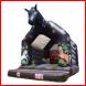 Feestcentrale springkussen paard