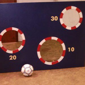 Voetbalschietwand 1