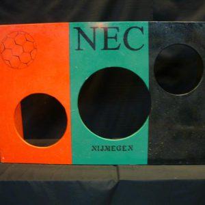 Voetbalschietwand NEC