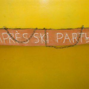 Apres ski bord