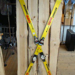 Apres ski wand met ski