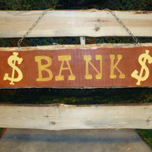 Bank uithangbord