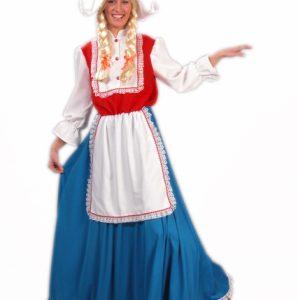 Boerin rood:wit:blauw