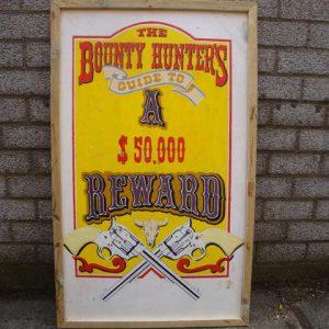 Country Western Reward bord