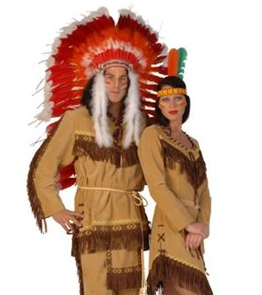 Cowboy : Indianen kleding