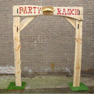 Entree boog Party Ranch