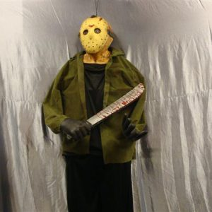 Freddie met masker:mes