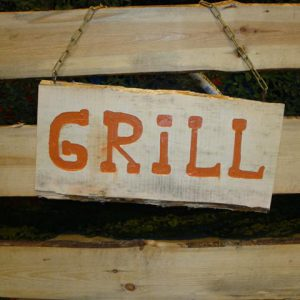Grill uithangbord