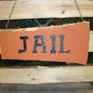 Jail uithangbord