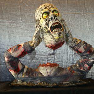 Mummie los hoofd 3D zetstuk