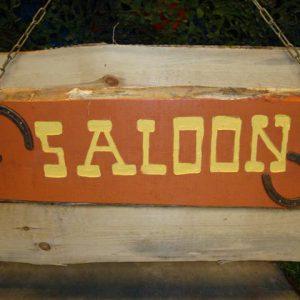 Saloon uithangbord