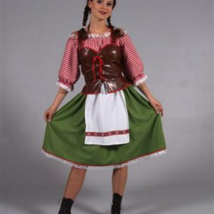 Tirol jurk lang