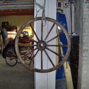 Wagenwiel Decoratie