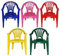 Kinderstoel Plastic stapelbaar