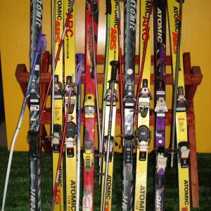 Ski-met-houder