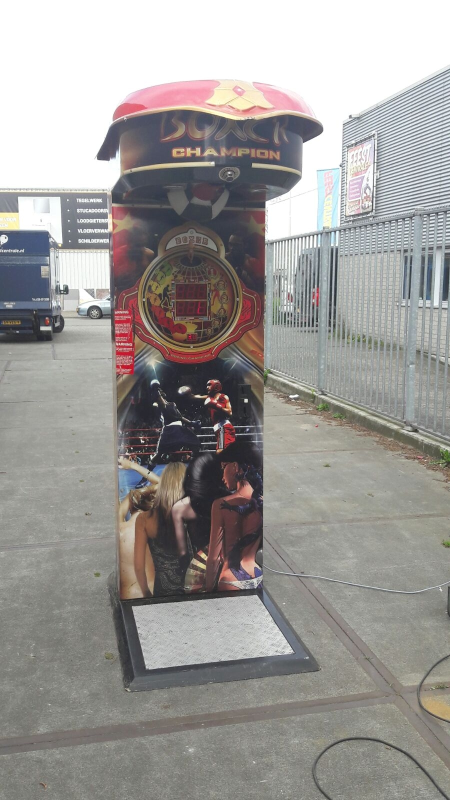 Wonderlijk Boksbal automaat – Feestcentrale.nl ZE-58
