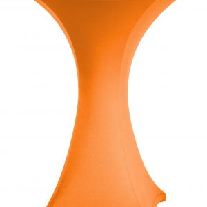 Statafel rok Stretch Oranje 80 cm