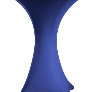 Statafel rok Stretch Blauw 80 cm