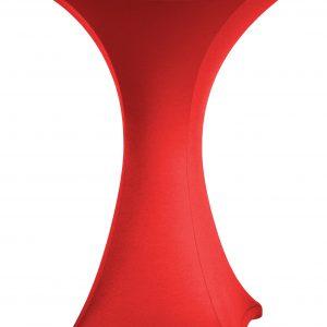 Statafel rok Stretch Rood 80 cm