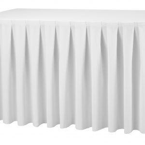 Buffettafel rok Wit