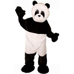 Panda kostuum