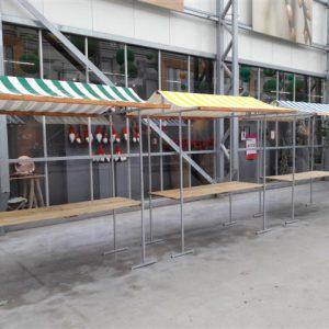 Marktkraam 2 meter