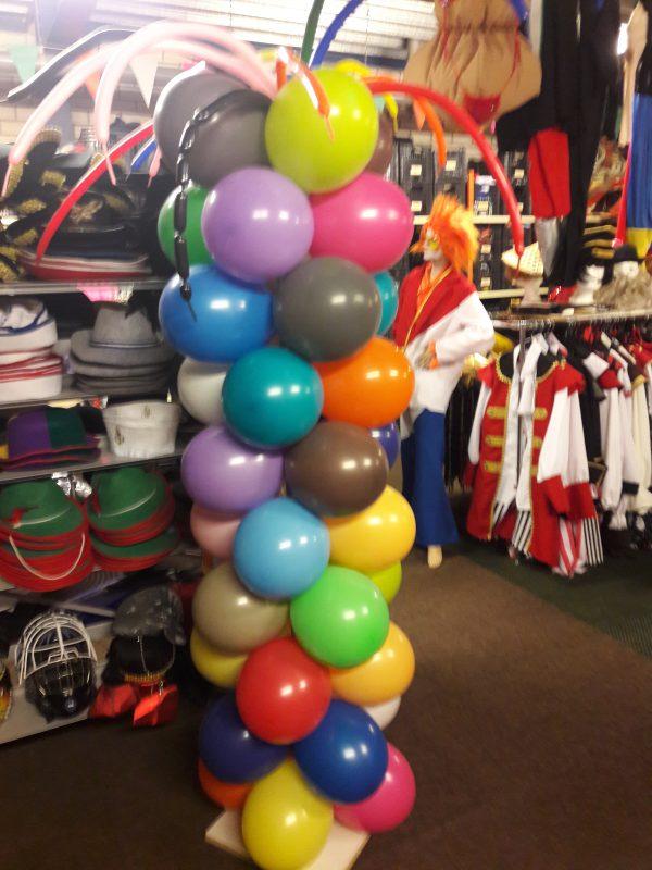 Ballon Pilaar + Sprieten