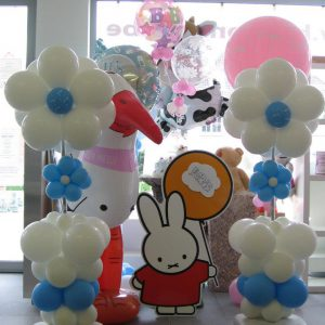 Geboorte Ballondecoratie Bloem