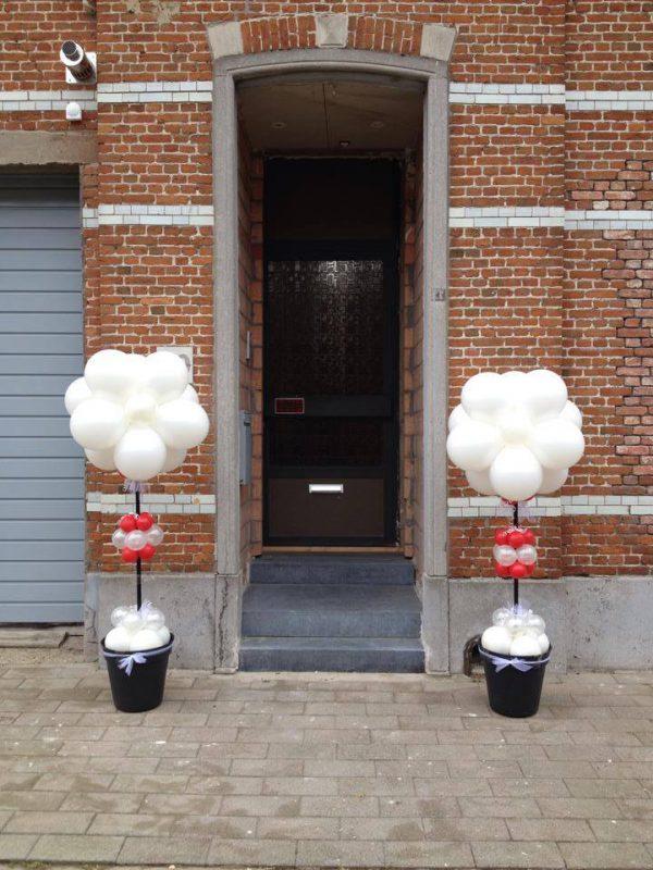 Huwelijk Ballondecoratie met pot