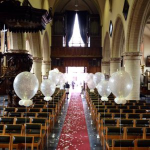 Huwelijk Ballondecoratie Helium