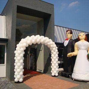 Huwelijk Ballondecoratie Ballonboog