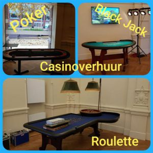 Casino tafels huren