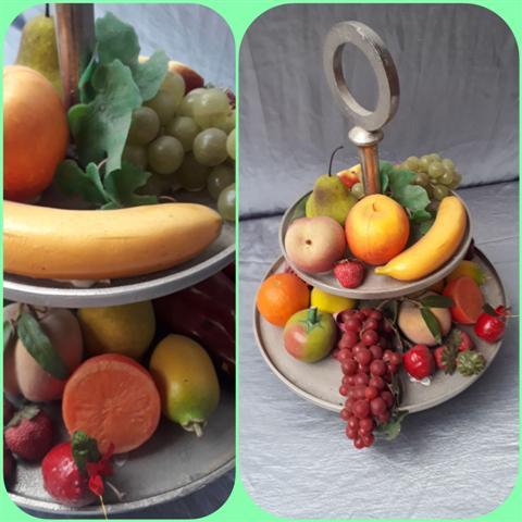 Etagere met fruit Decoratie