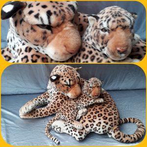 Luipaard (set van 2 stuks)