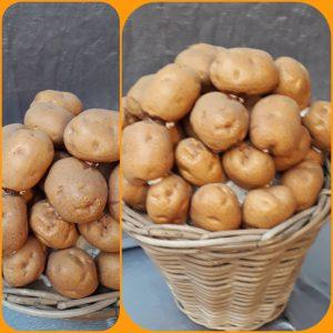 Mand met Aardappelen Decoratie