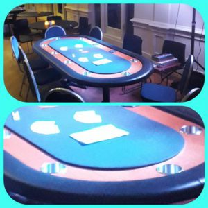 Pokertafel 8 personen