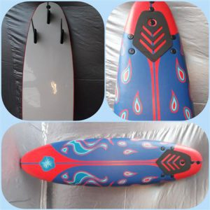 Surfboard Decoratie