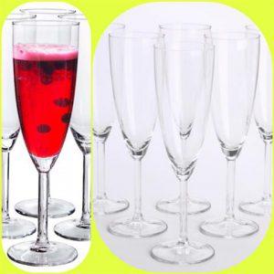 Champagne Flutes 21 CL