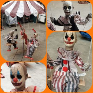Draaicarrousel Halloween
