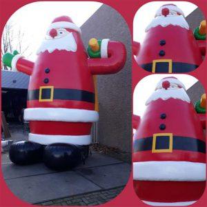 Kerstman 5 meter hoog