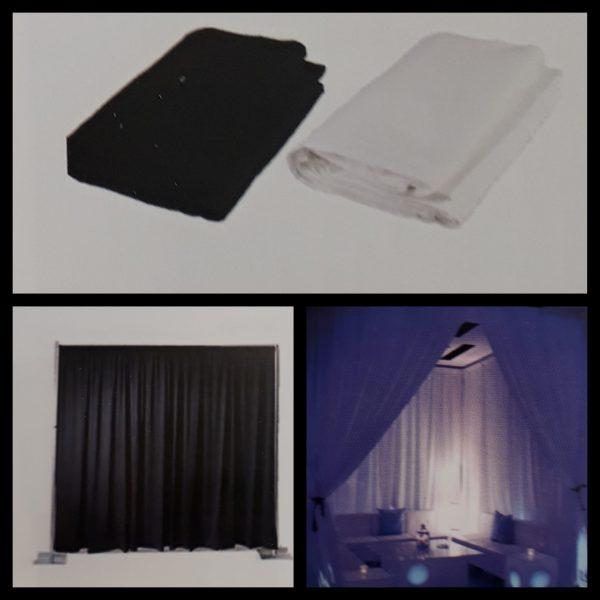Backdrop zwart en wit