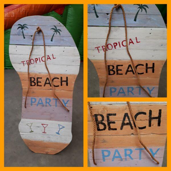 Entree Beach Party